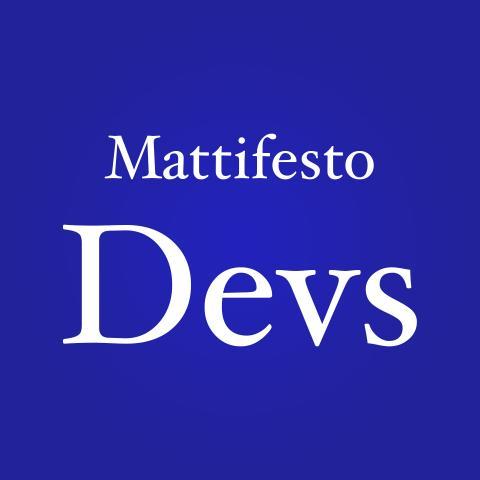 Mattifesto Devs